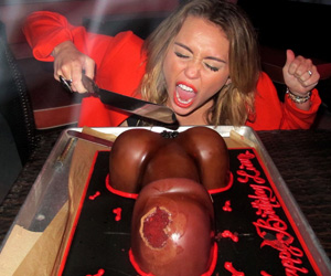 miley cyrus birthday cake
