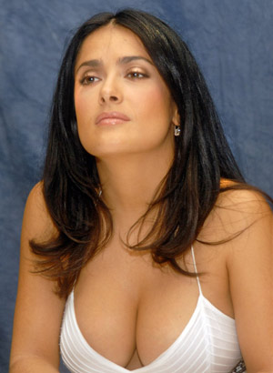 Naked hula sexy boobs of salma hayek